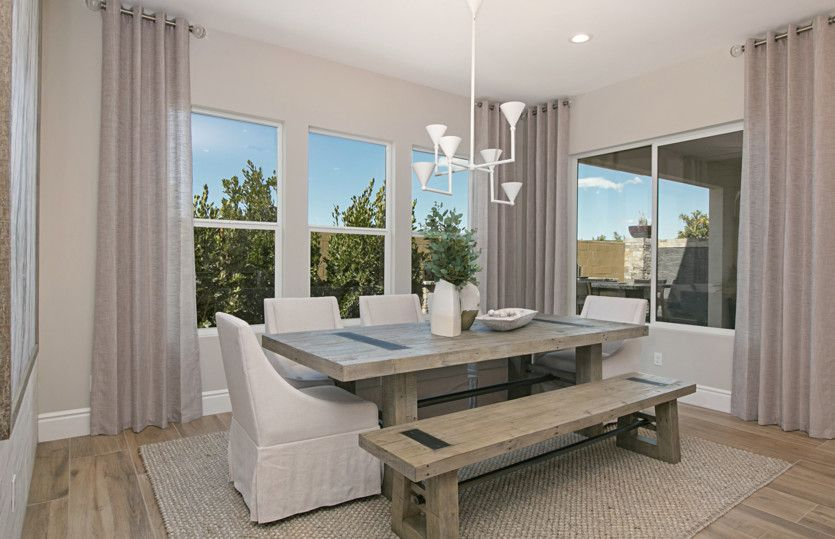 Living Area featured in the Plan Three By Pulte Homes in Orange County, CA