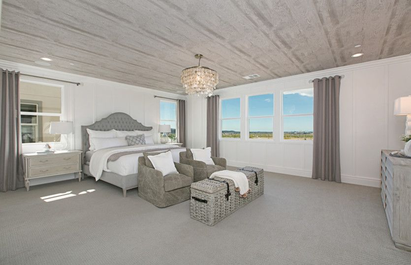 Bedroom featured in the Plan Three By Pulte Homes in Orange County, CA
