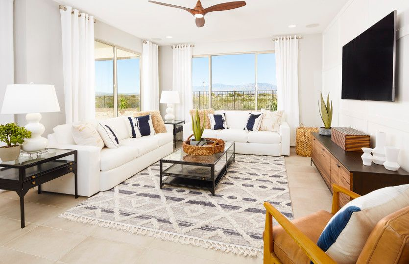 Living Area featured in the Cantania By Pulte Homes in Tucson, AZ