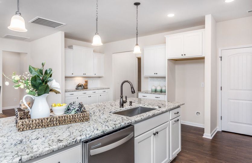 Kitchen featured in the Eastway By Pulte Homes in Raleigh-Durham-Chapel Hill, NC