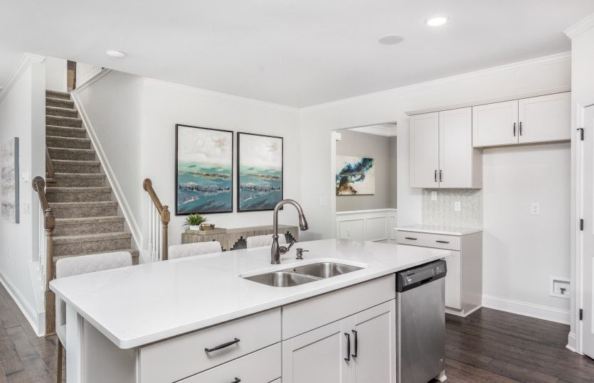 Kitchen featured in the Hampton By Pulte Homes in Raleigh-Durham-Chapel Hill, NC