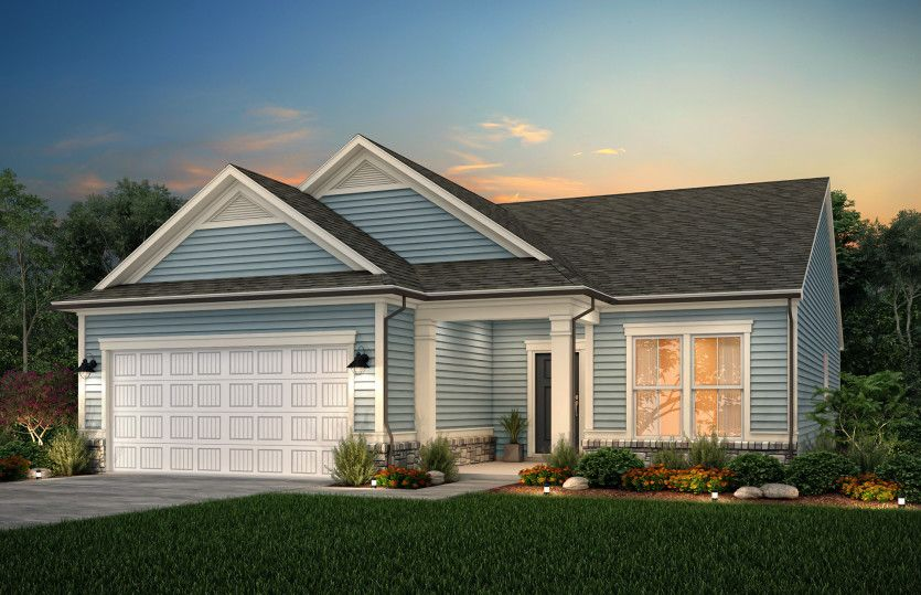 Exterior featured in the Martin Ray By Pulte Homes in Raleigh-Durham-Chapel Hill, NC