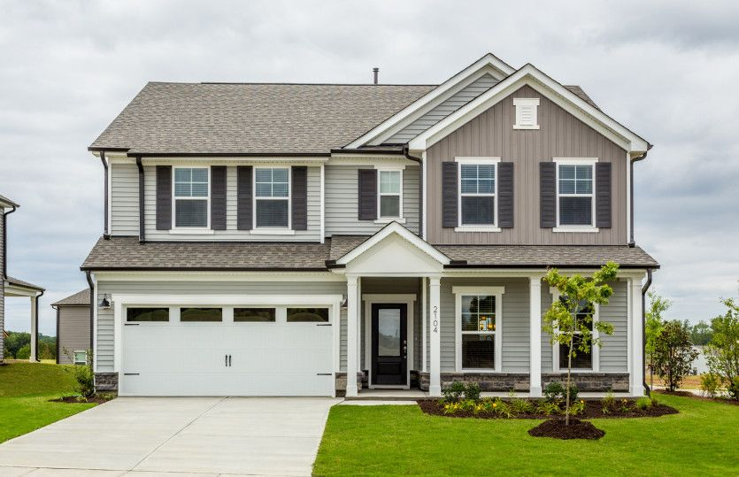 Exterior featured in the Mitchell By Pulte Homes in Raleigh-Durham-Chapel Hill, NC