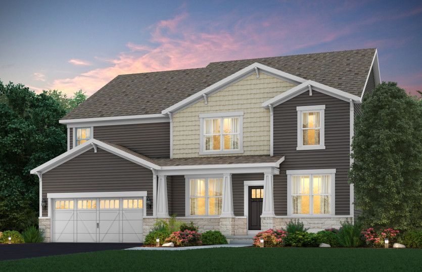 Exterior featured in the Willwood By Pulte Homes in Columbus, OH