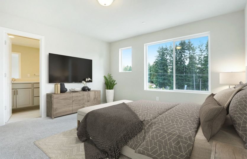 Bedroom featured in the Residence II By Pulte Homes in Seattle-Bellevue, WA