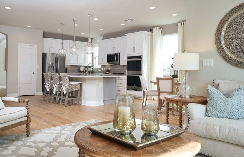 Living Area featured in the Mooreville By Pulte Homes in San Antonio, TX