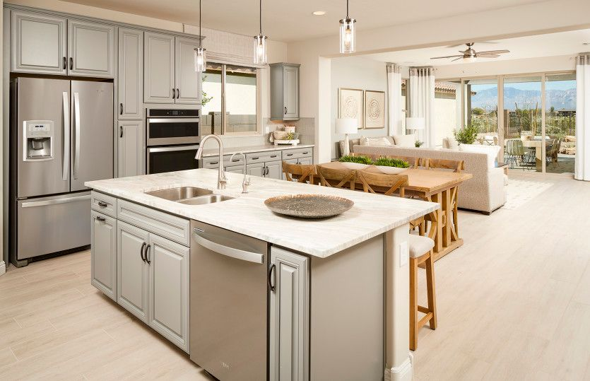 Kitchen featured in the Barletta By Pulte Homes in Tucson, AZ