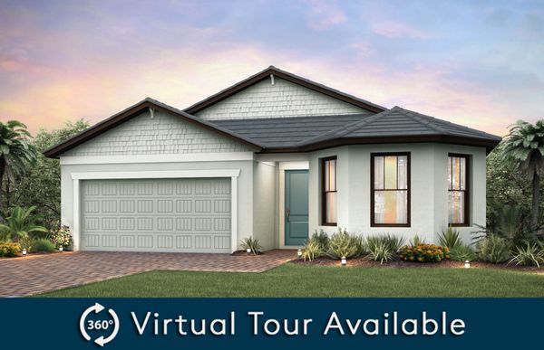 Marina:Home Exterior C2B with flat tile roof