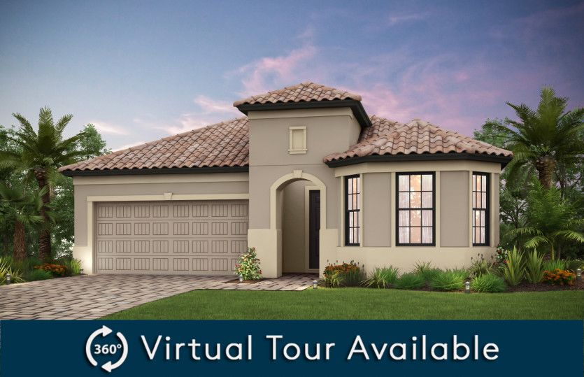 Exterior featured in the Pompeii By Pulte Homes in Naples, FL