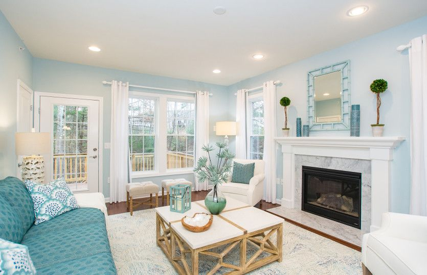Living Area featured in the Florence By Pulte Homes in Boston, MA