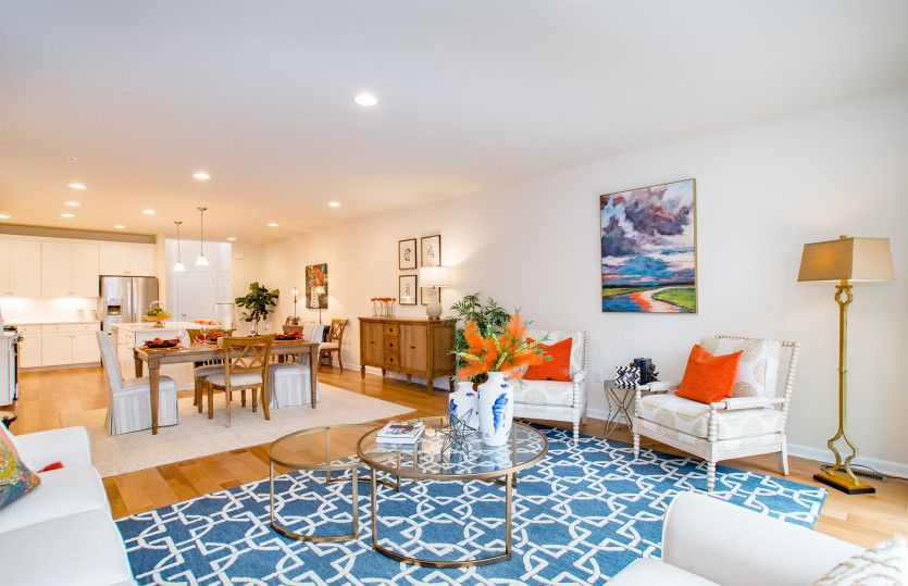 Living Area featured in the Milan By Pulte Homes in Boston, MA