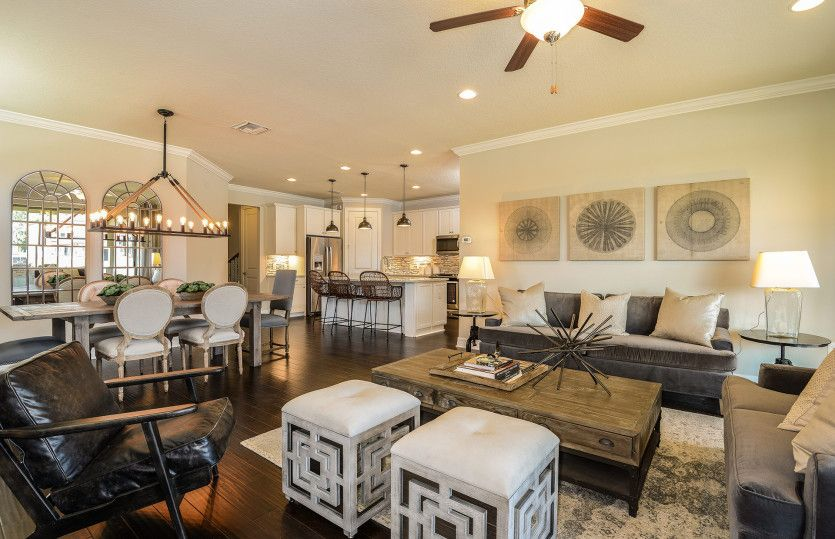 Living Area featured in the Arbordale By Pulte Homes in Dallas, TX