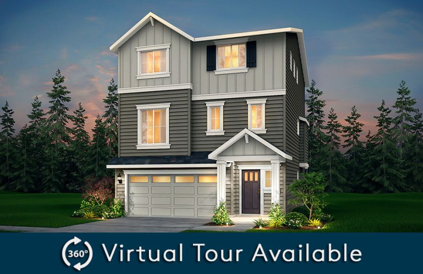 Exterior featured in the Holman By Pulte Homes in Seattle-Bellevue, WA