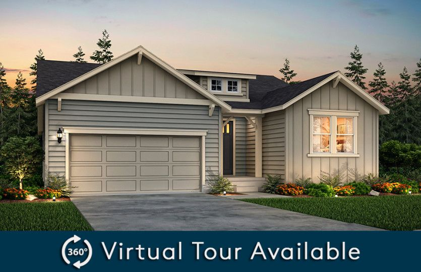 Exterior featured in the Preserve By Pulte Homes in Seattle-Bellevue, WA