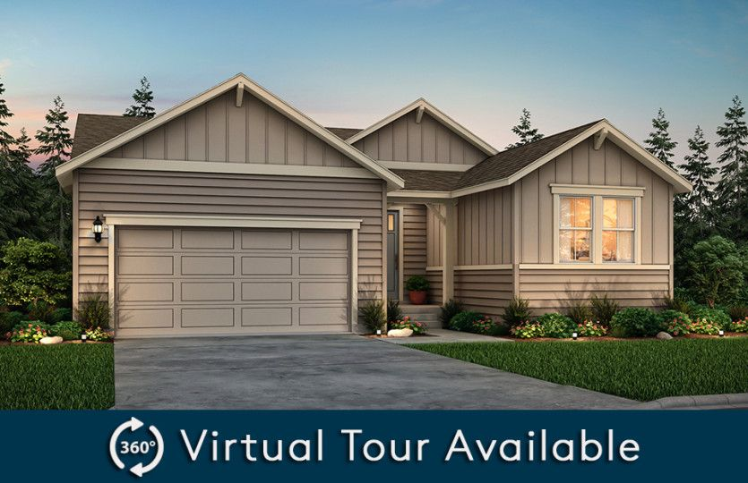 Exterior featured in the Refuge By Pulte Homes in Seattle-Bellevue, WA