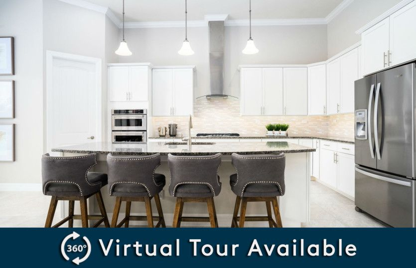 Kitchen featured in the Stonehaven By Pulte Homes in Orlando, FL