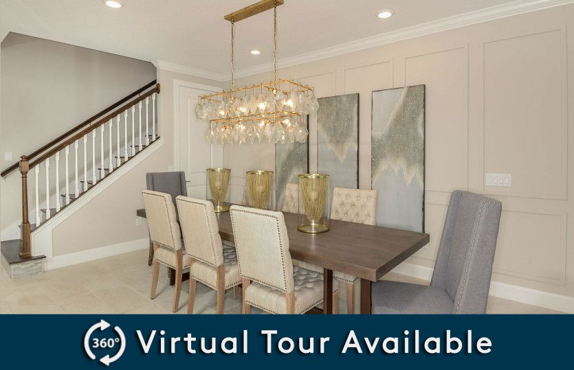 Living Area featured in the Dockside By Pulte Homes in Orlando, FL