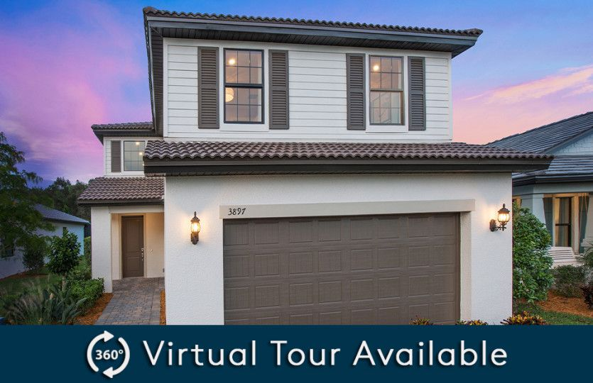 Exterior featured in the Driftwood By Pulte Homes in Naples, FL