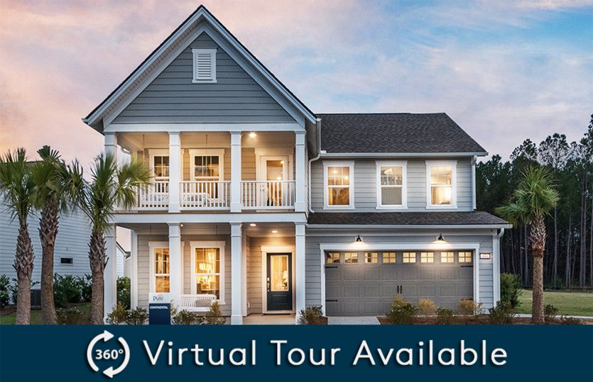 Exterior featured in the Continental By Pulte Homes in Hilton Head, SC