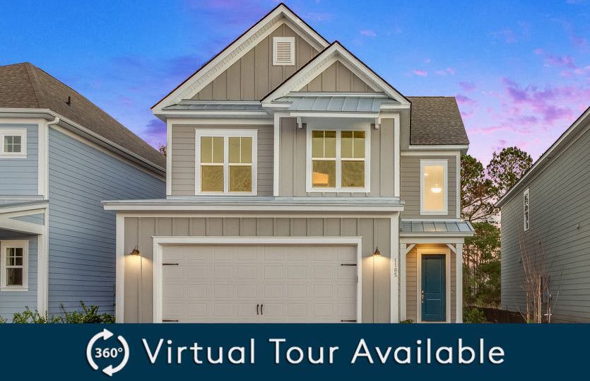 Exterior featured in the Jamison By Pulte Homes in Hilton Head, SC