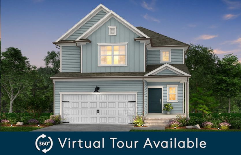 Exterior featured in the Harris By Pulte Homes in Raleigh-Durham-Chapel Hill, NC