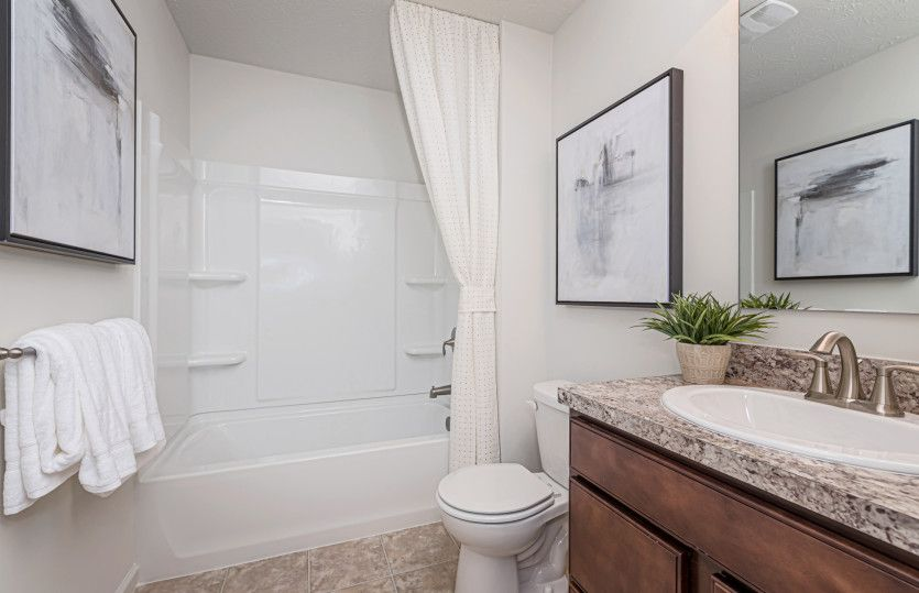 Bathroom featured in the Ascend By Pulte Homes in Indianapolis, IN