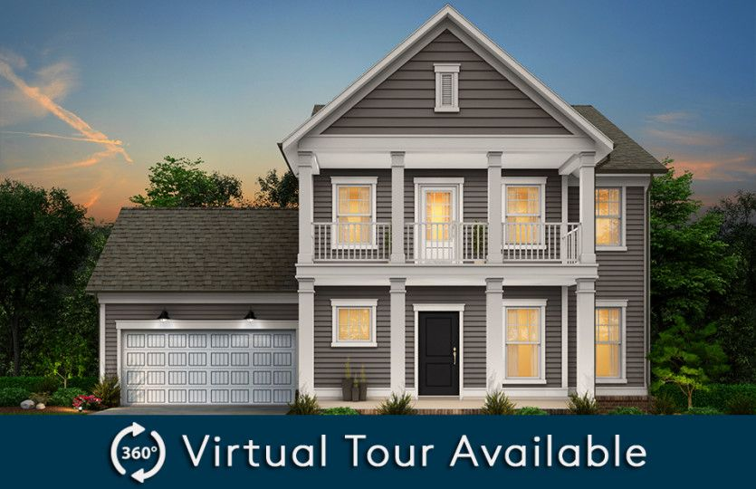 Exterior featured in the Foxfield By Pulte Homes in Raleigh-Durham-Chapel Hill, NC