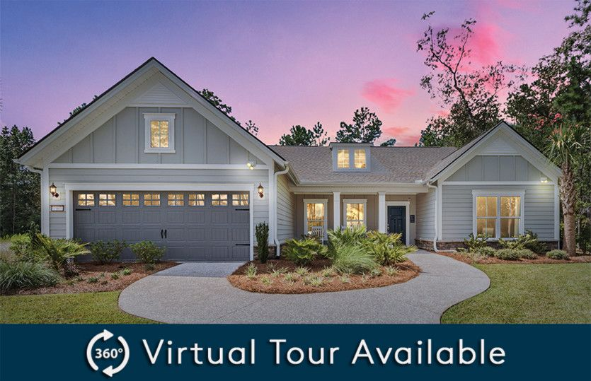 Exterior featured in the Tangerly Oak By Pulte Homes in Myrtle Beach, SC