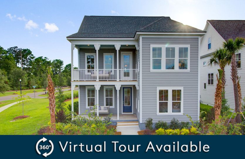 Exterior featured in the Poplar By Pulte Homes in Charleston, SC