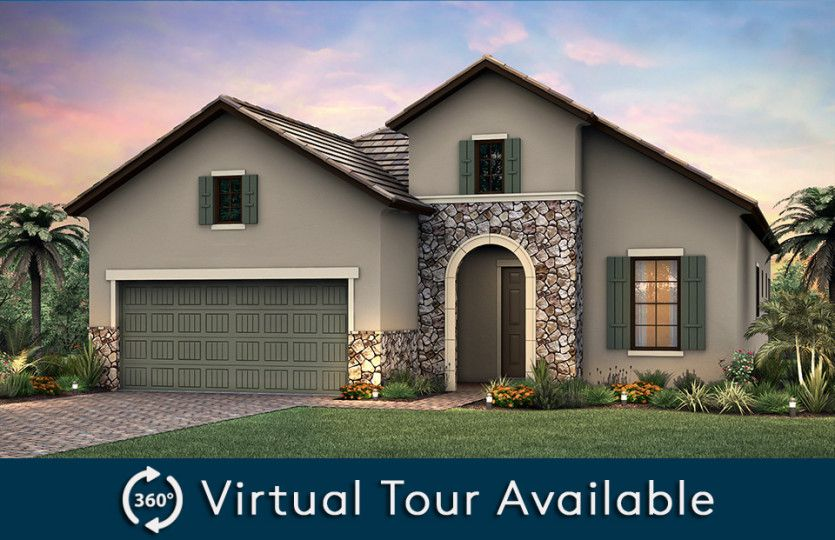 Exterior featured in the Martin Ray By Pulte Homes in Naples, FL