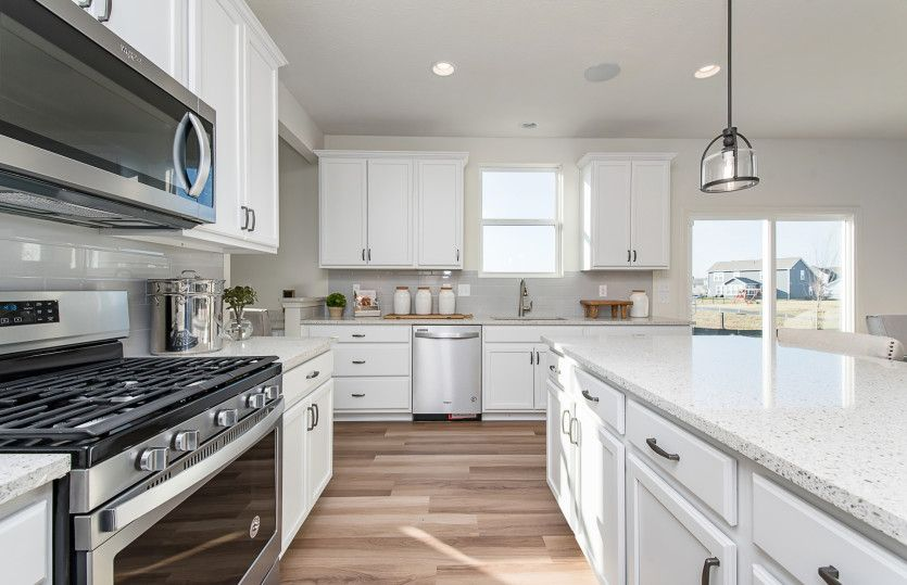 Kitchen featured in the Riverton By Pulte Homes in Indianapolis, IN