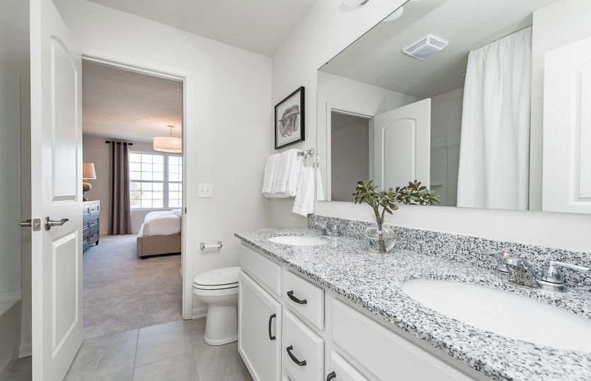 Bathroom featured in the Riverton By Pulte Homes in Louisville, KY