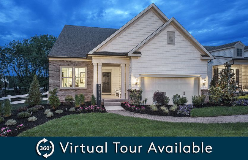 Exterior featured in the Martin Ray By Pulte Homes in Hunterdon County, NJ