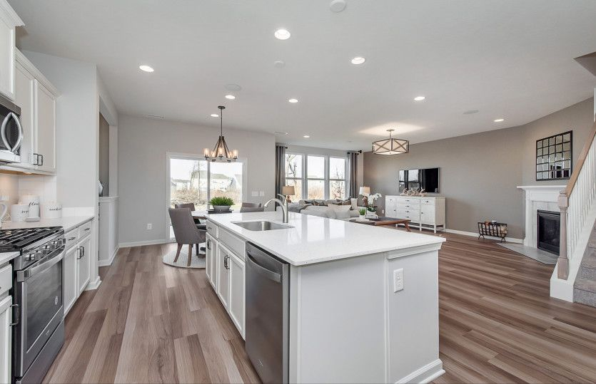 Kitchen featured in the Hilltop By Pulte Homes in Indianapolis, IN