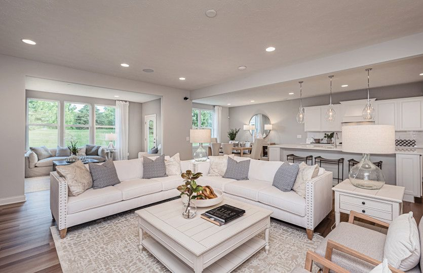 Living Area featured in the Reflection By Pulte Homes in Columbus, OH