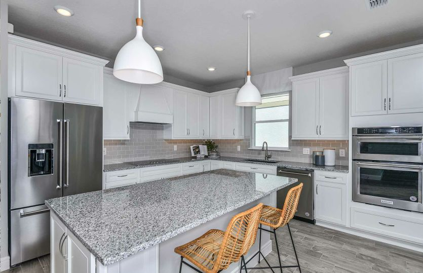 Kitchen featured in the Highgate By Pulte Homes in Orlando, FL