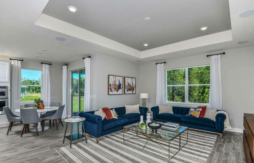 Living Area featured in the Highgate By Pulte Homes in Orlando, FL