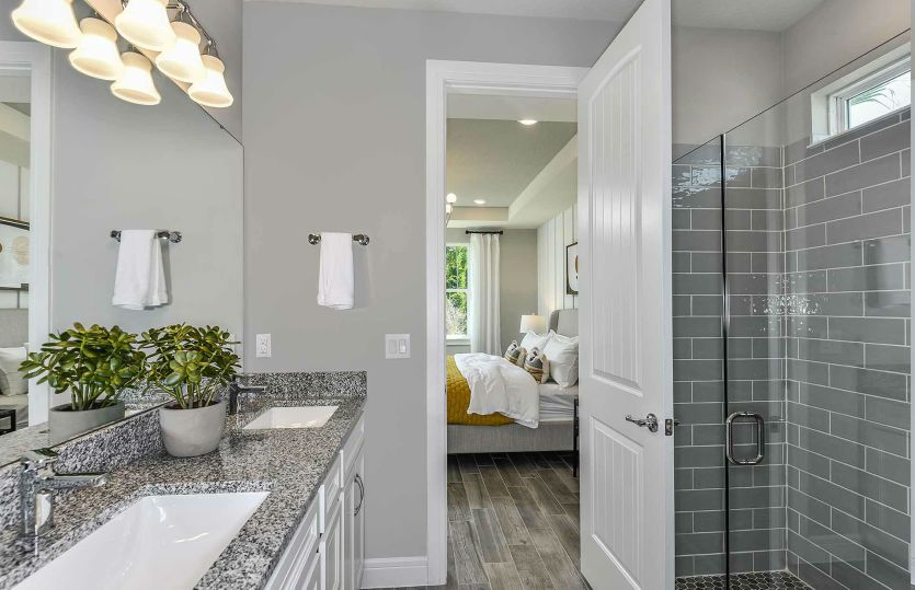 Bathroom featured in the Highgate By Pulte Homes in Orlando, FL