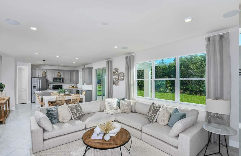Living Area featured in the Tower By Pulte Homes in Orlando, FL