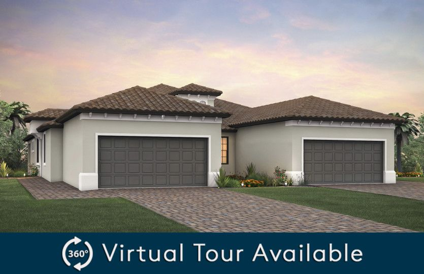 Exterior featured in the Serenity By Pulte Homes in Palm Beach County, FL