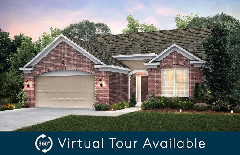 Exterior featured in the Bayport II with basement By Pulte Homes in Detroit, MI