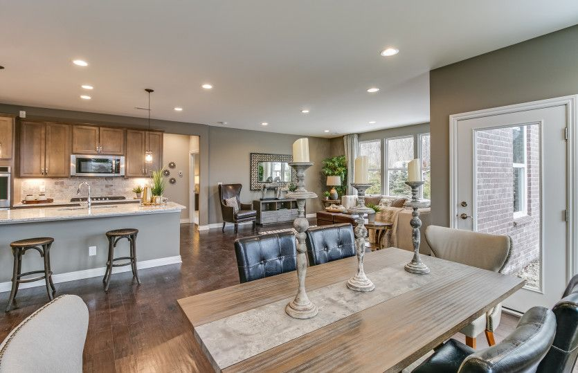 Living Area featured in the Bedrock with basement By Pulte Homes in Detroit, MI