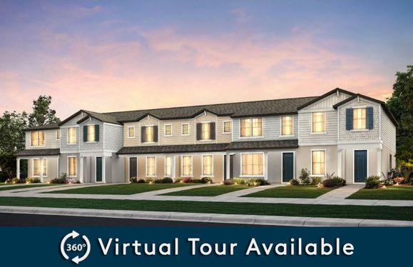 Foxtail - End Unit:New Construction TownHomes for Sale Exterior 6-Unit