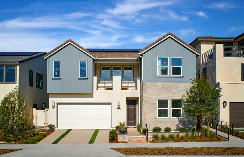Exterior featured in the Plan Two By Pulte Homes in Orange County, CA
