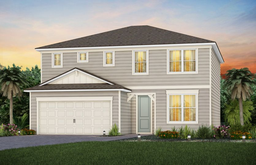 Exterior featured in the Tower By Pulte Homes in Jacksonville-St. Augustine, FL