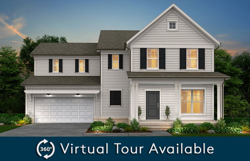 Exterior featured in the Waterstone By Pulte Homes in Raleigh-Durham-Chapel Hill, NC