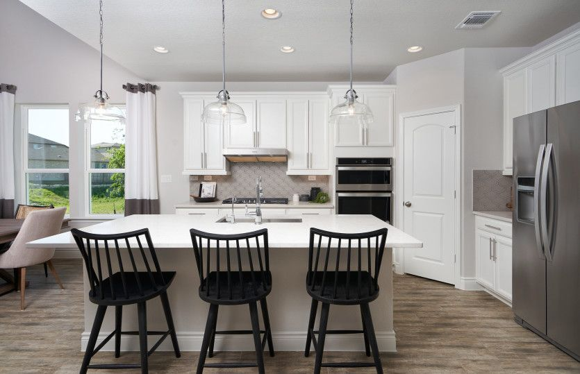 Kitchen featured in the Hamilton By Pulte Homes in San Antonio, TX