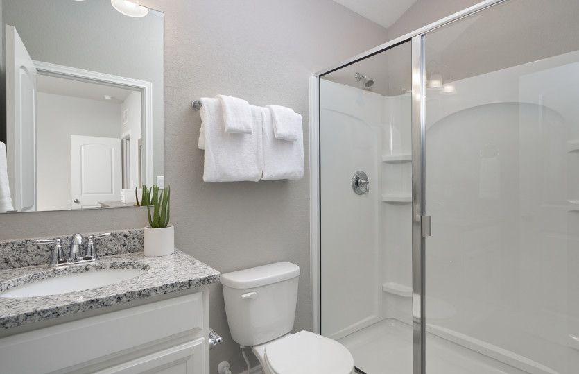 Bathroom featured in the Hamilton By Pulte Homes in San Antonio, TX