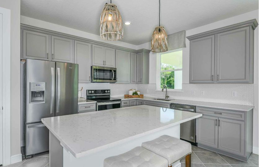 Kitchen featured in the Tower By Pulte Homes in Jacksonville-St. Augustine, FL