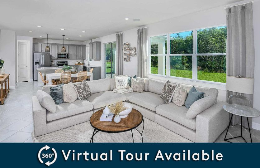 Living Area featured in the Tower By Pulte Homes in Jacksonville-St. Augustine, FL